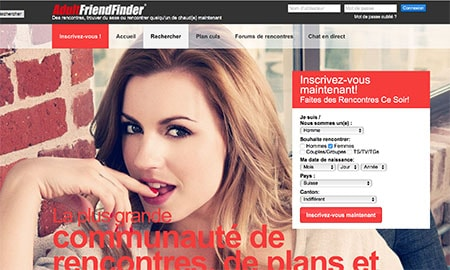 Adultfriendfinder en Belgique